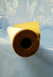"1"" Thick Fiberglass Pipe Insulation (ASJ+ jacket) per 3ft sections"